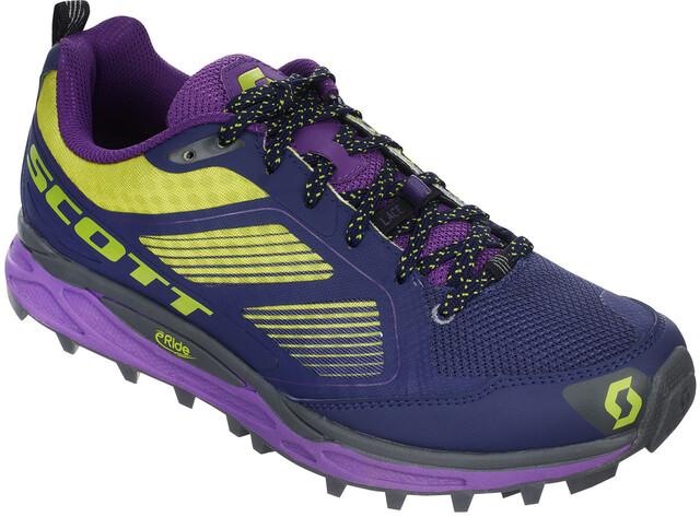 SCOTT W's Kinabalu Supertrac Shoes Purple/Grön